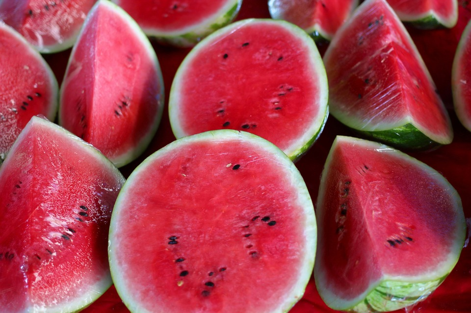 Watermelons, Melons, Water, Healthy, Fruit, Red, Food