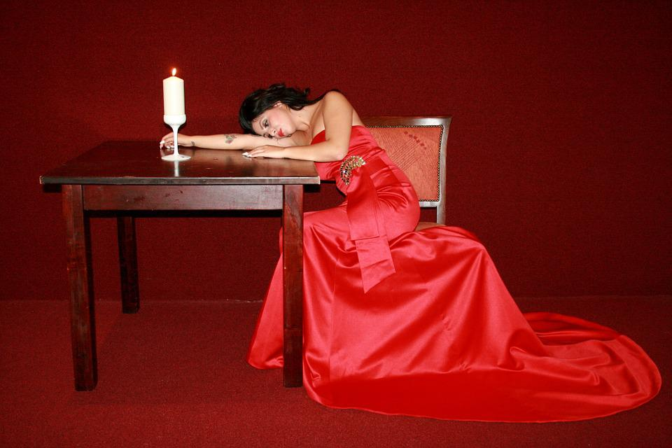 girl dress red lady in  u00b7 free photo on pixabay