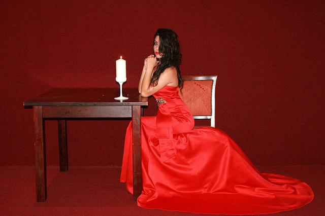 Free Photo Girl Dress Red Lady In Red Free Image On