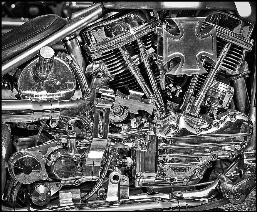 Imagenes De Motos Harley: Harley Davidson Moteur Chrome · Photo Gratuite Sur Pixabay