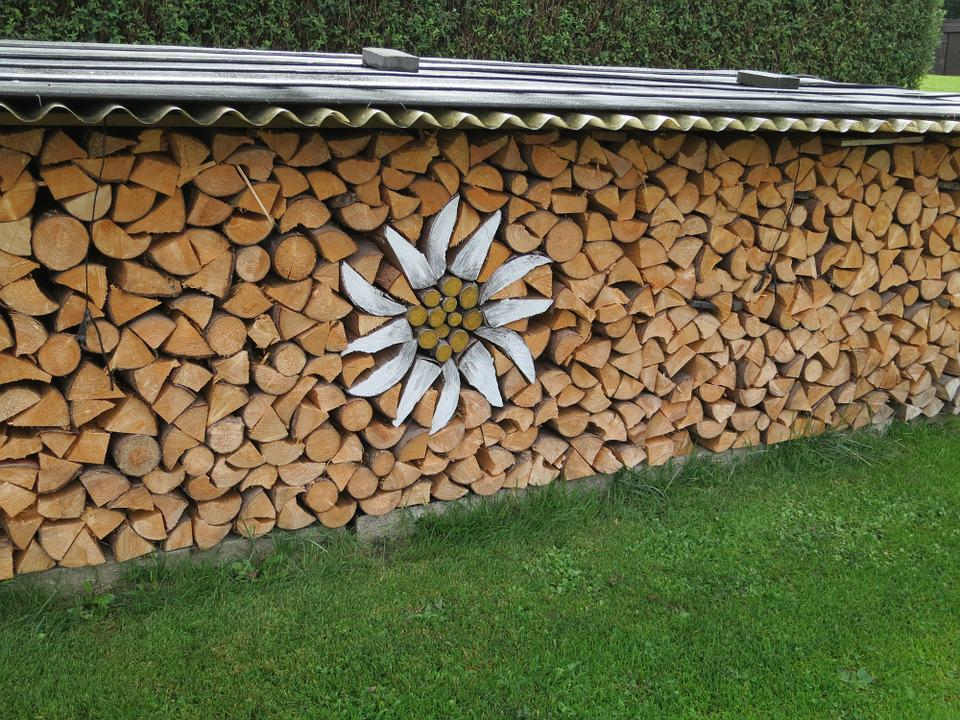 Kostenloses Foto: Edelweiss, Holz, Brennholz, Kunst - Kostenloses ...