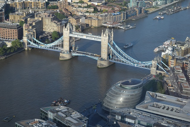 tower bridge london river  u00b7 free photo on pixabay
