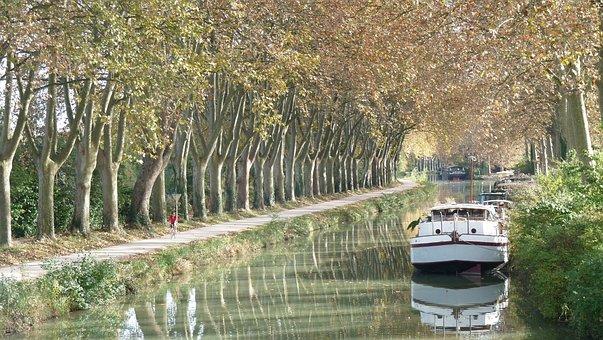 Canal Du Midi, Péniche, Sud-Ouest