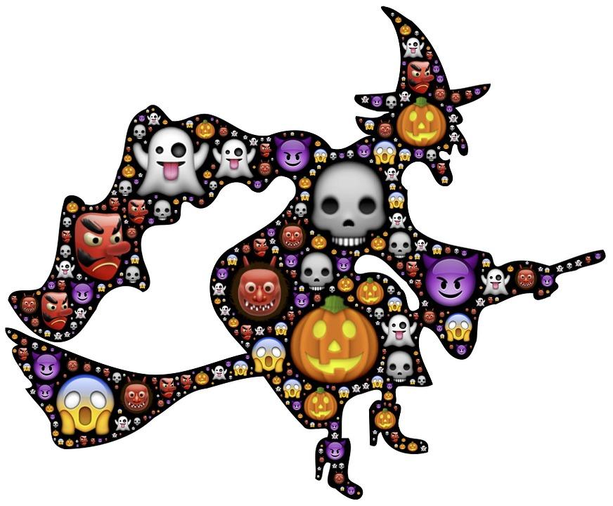 Free illustration: Witch, Halloween, Emoji, Scary - Free Image on ...