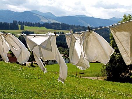 Laundry, Dry, Dry Laundry, Hang, Washed