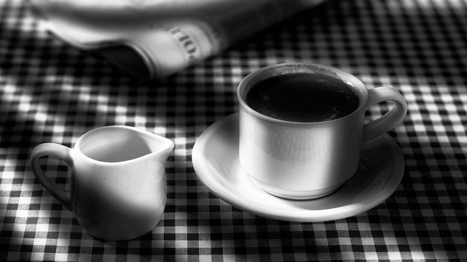 Black And White Coffee Morning 183 Free Photo On Pixabay