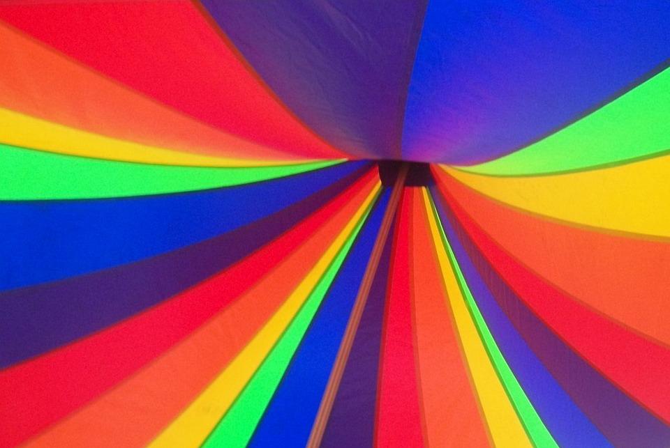 rainbow tent canopy carnival circus circus tent  sc 1 st  Pixabay & Rainbow Tent Canopy - Free photo on Pixabay