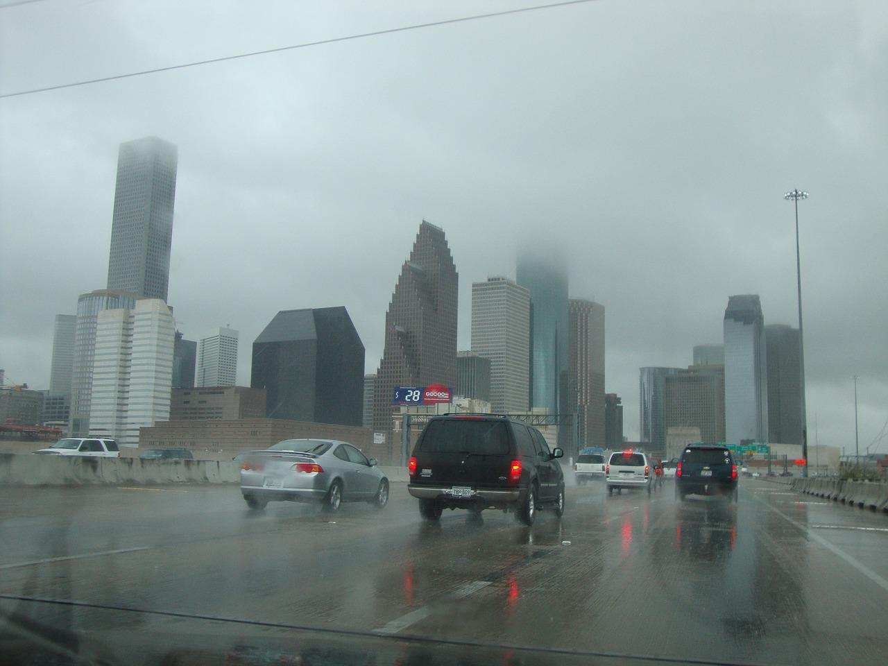 Rainy Dallas