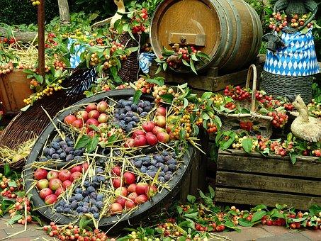Erntedank, Obst, Natur, Herbst, Gesund