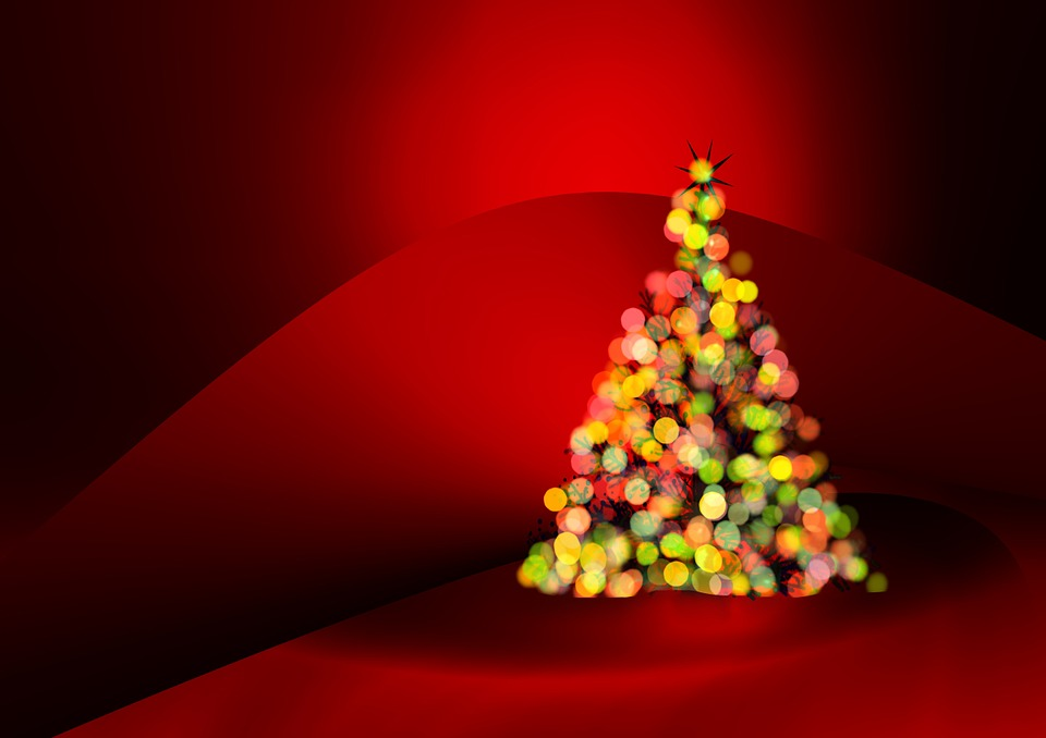 Free illustration: Greeting Card, Christmas Tree
