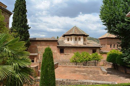 Alhambra, Andalusia, Landscape, Castle