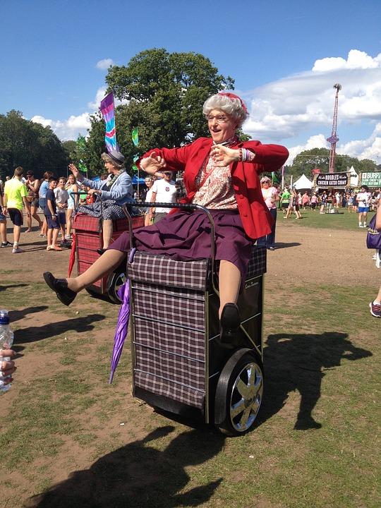 Rewind Festival Old Lady Costume - Free photo on Pixabay