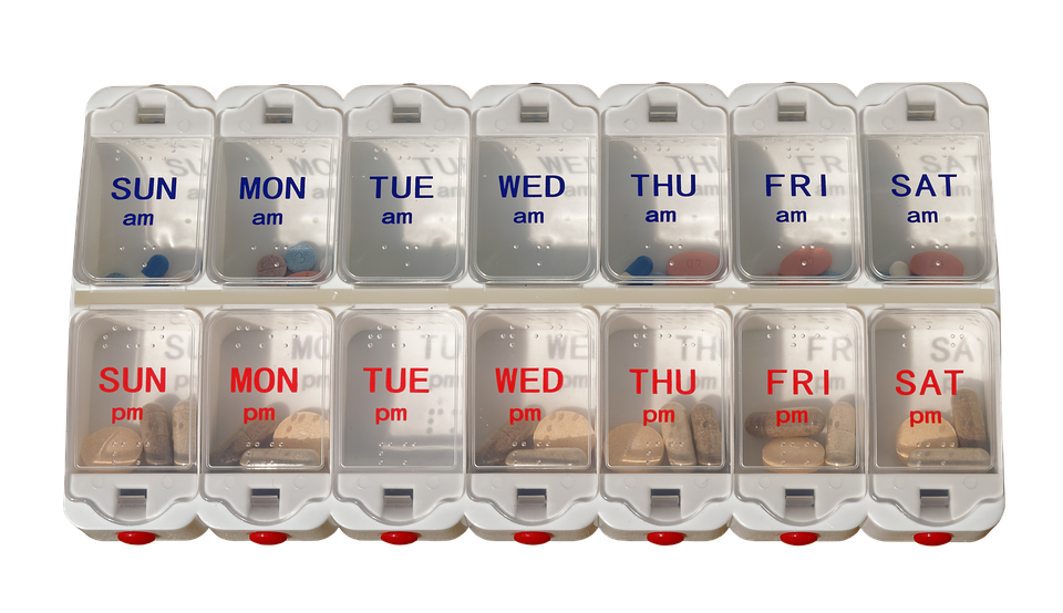 Pills Dispenser Medicine - Free photo on Pixabay