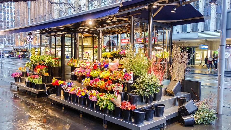 Tienda De Flores, Flor, Tienda, Primavera, Naturaleza