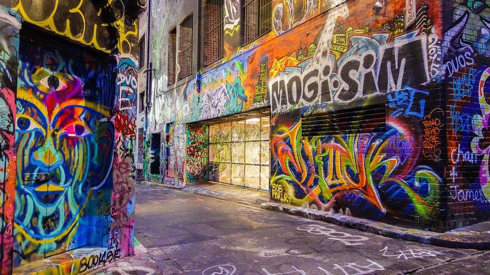 93+ Foto Gambar Jalan Graffiti Kekinian