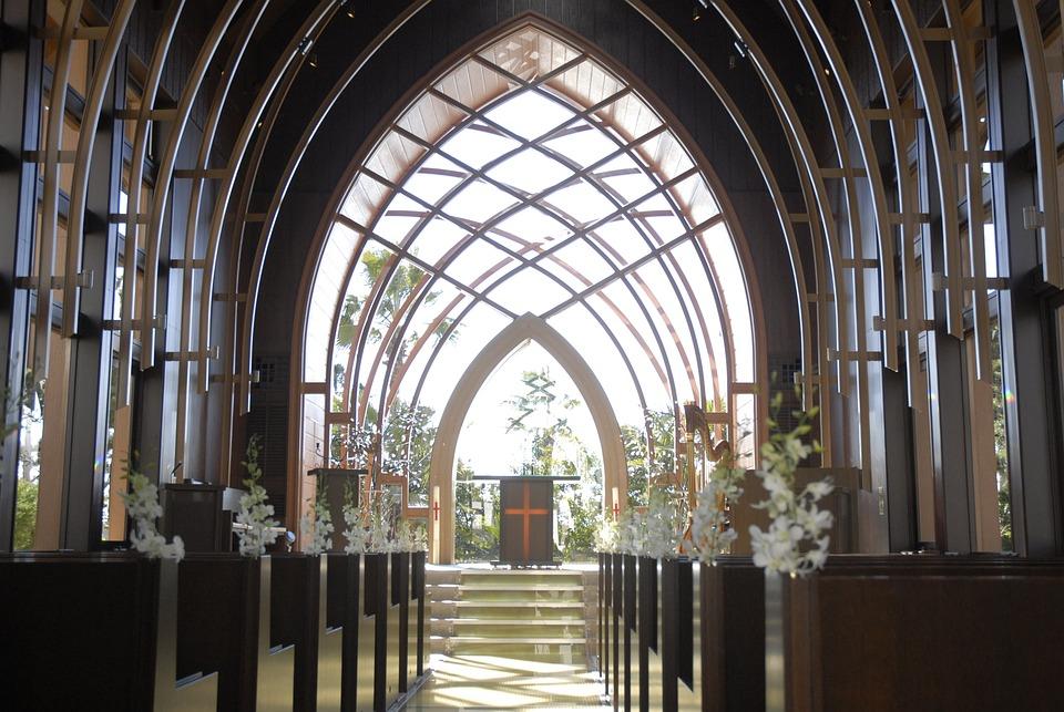 Chapel Wedding Glass - Free photo on Pixabay