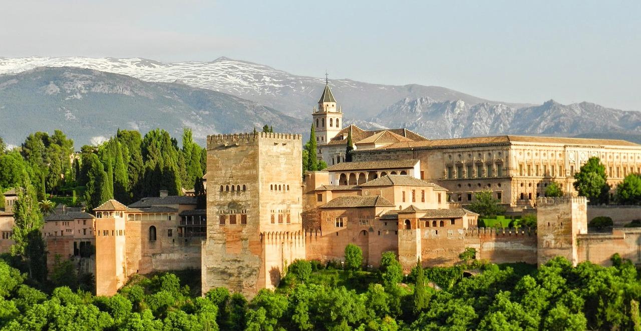 Alhambra, Granada, Most Beautiful Castles in Spain