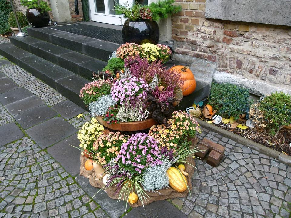 Blumendeko Herbst erntedank herbst blumendeko kostenloses foto auf pixabay