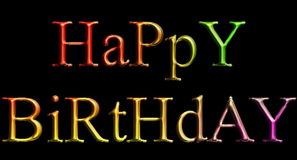 Heureux Anniversaire Texte Joyeux Image Gratuite Sur Pixabay