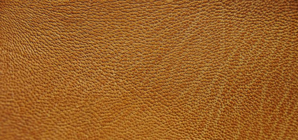 Free Photo Leather Orange Texture Structure Free