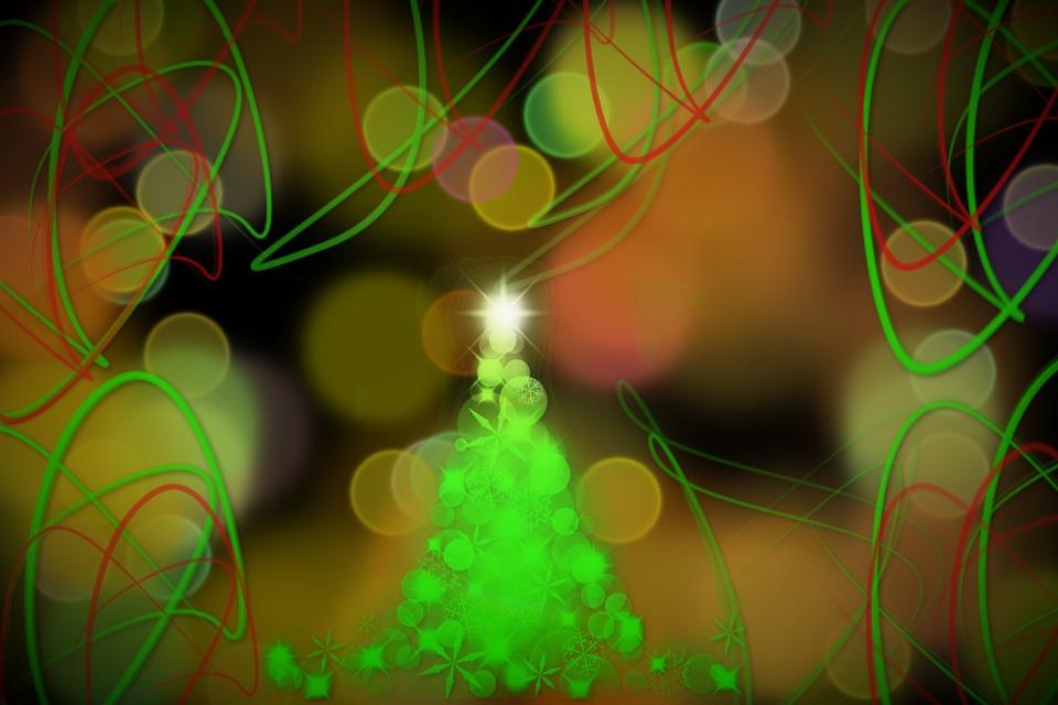 Kerstboom Achtergrond Abstracte Gratis Afbeelding Op Pixabay