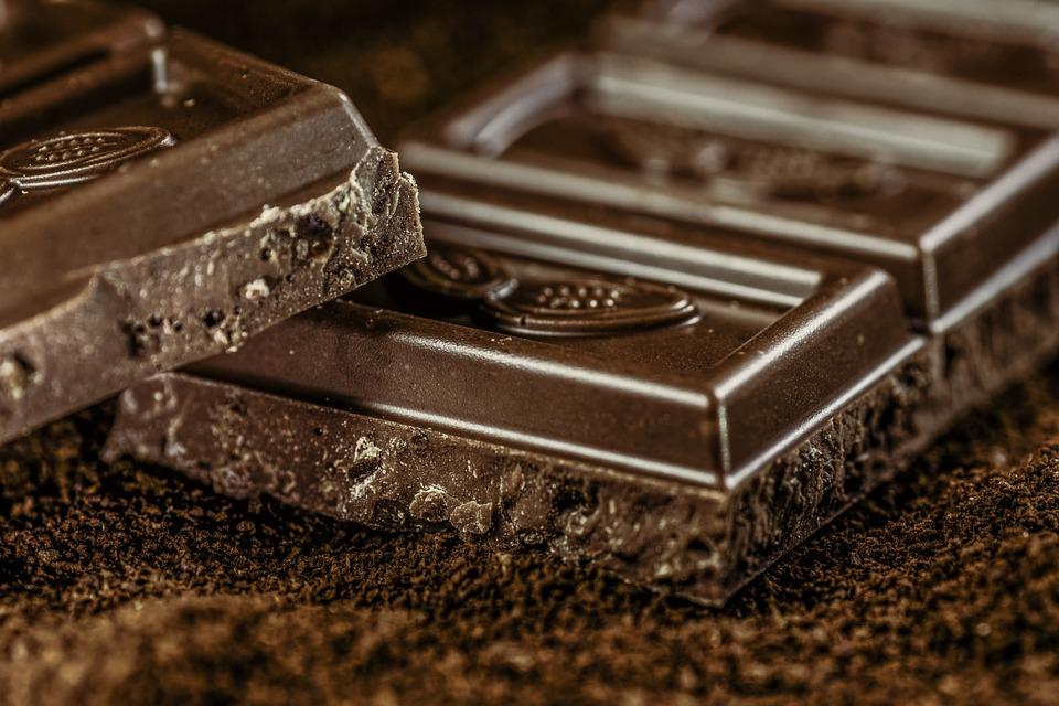 Шоколад, Темный, Кофе, Confiserie, Темный Шоколад
