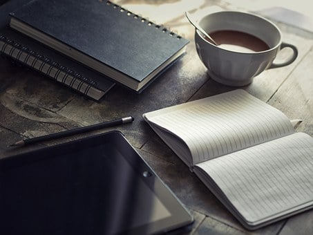 Diario, Ipad, Scrivere, Blog