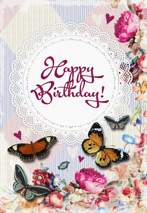 verjaardag happy brithday bloemen - gratis afbeelding op pixabay