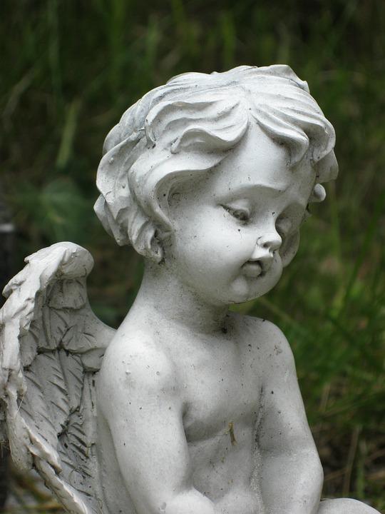 Free Photo Cherub Cemetery Statue Mourning Free