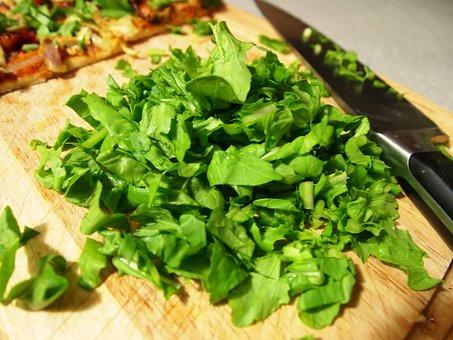 Green, Food, Cutting, Cutting Board