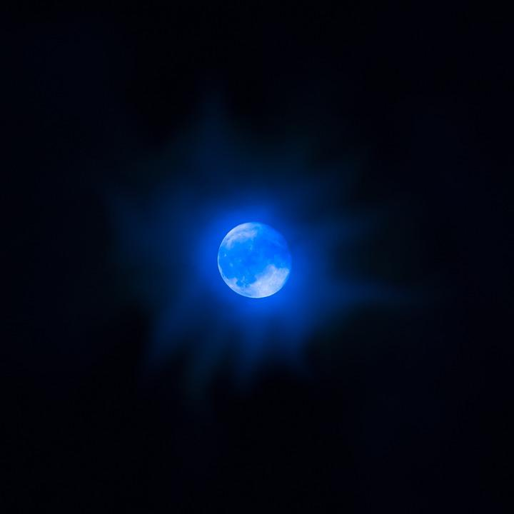 moon night blue  u00b7 free photo on pixabay