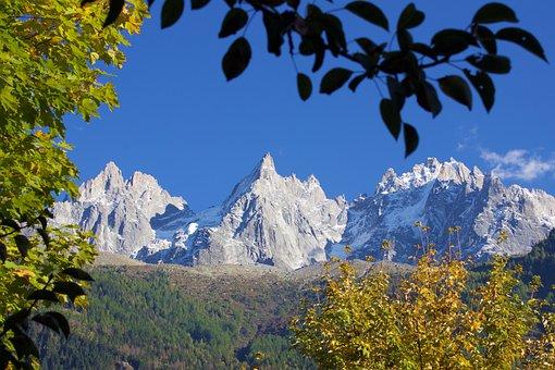 Autumn, Mountains, Landscape, Nature