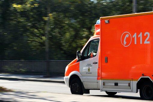 Ambulance, Krankenwagen, Feuerwehr, 112
