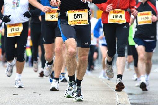 スポーツ, 競争, 持久力, マラソン大会