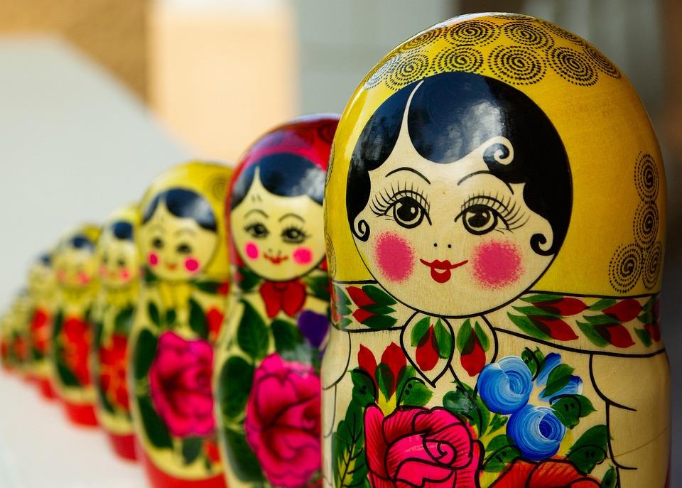 Matrioska, Bambole Russe, Annidamento, Russia