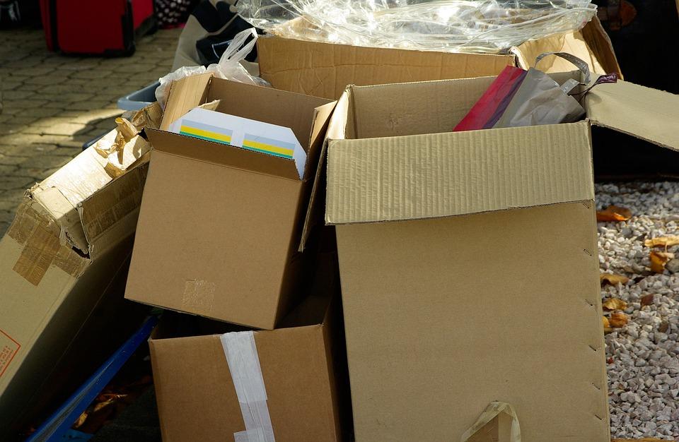 Cajas De Cartón, Embalaje, Paquete