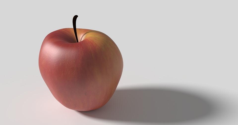 75+ Gambar Apel Bayangan Terlihat Keren