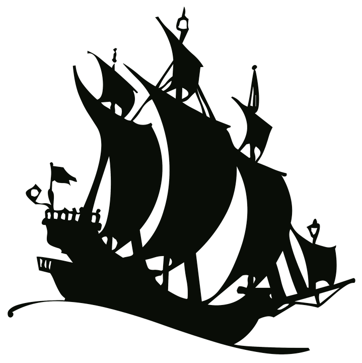 free illustration silhouette drawing outline ship