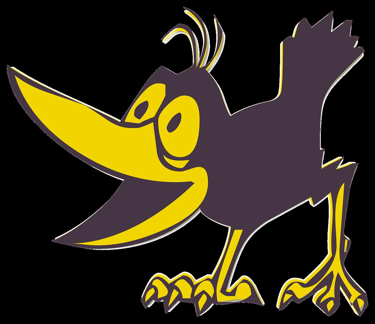 Funny Bird Cartoon Free Image On Pixabay
