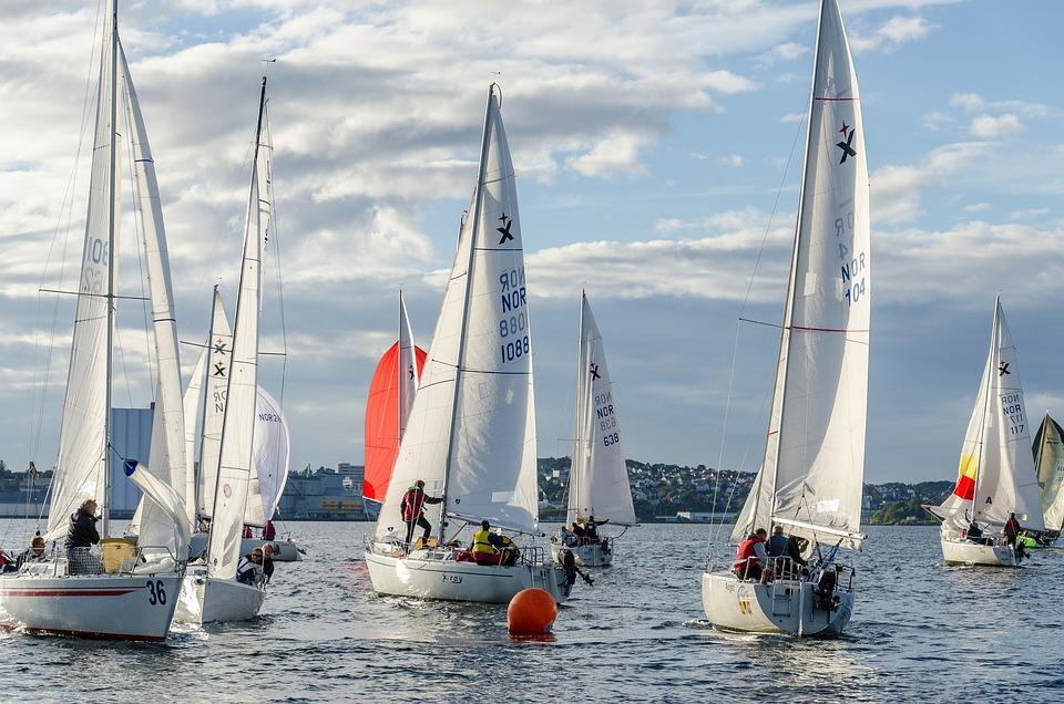 Albin Express, Sailboat, Regatta, Top Mark, Sailing
