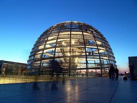 Berlin, Reichstag, La Volke Allemand
