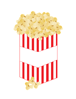 Popcorn Corn Food Snack Movies Film T