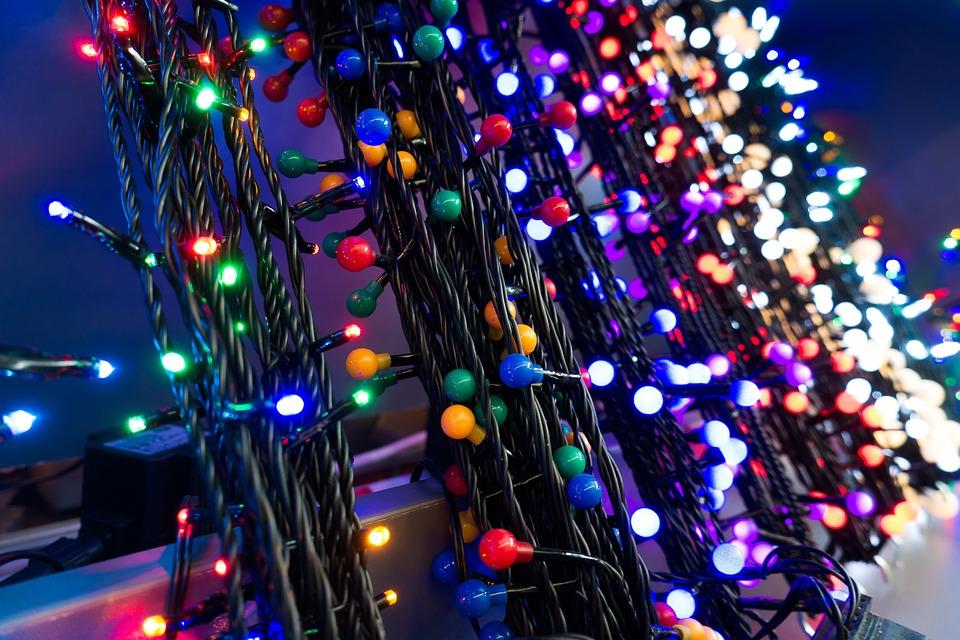 Weihnachtsbeleuchtung Bunt.Beleuchtung Weihnachtsbeleuchtung Kostenloses Foto Auf Pixabay