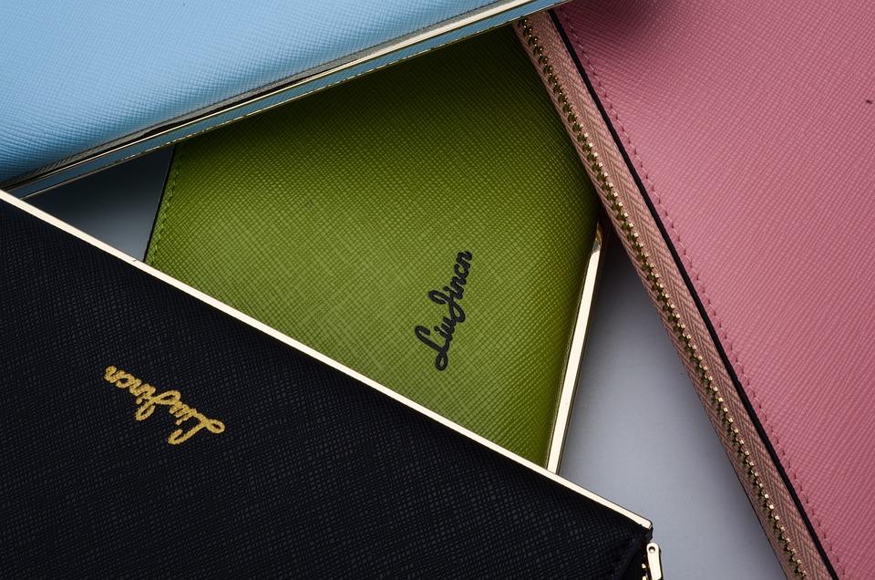 財布, レザーグッズ, 女性バッグ, 広告, ファッション, ブリーフケース, ファッショナブルなドレス