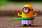minion, funny, toys