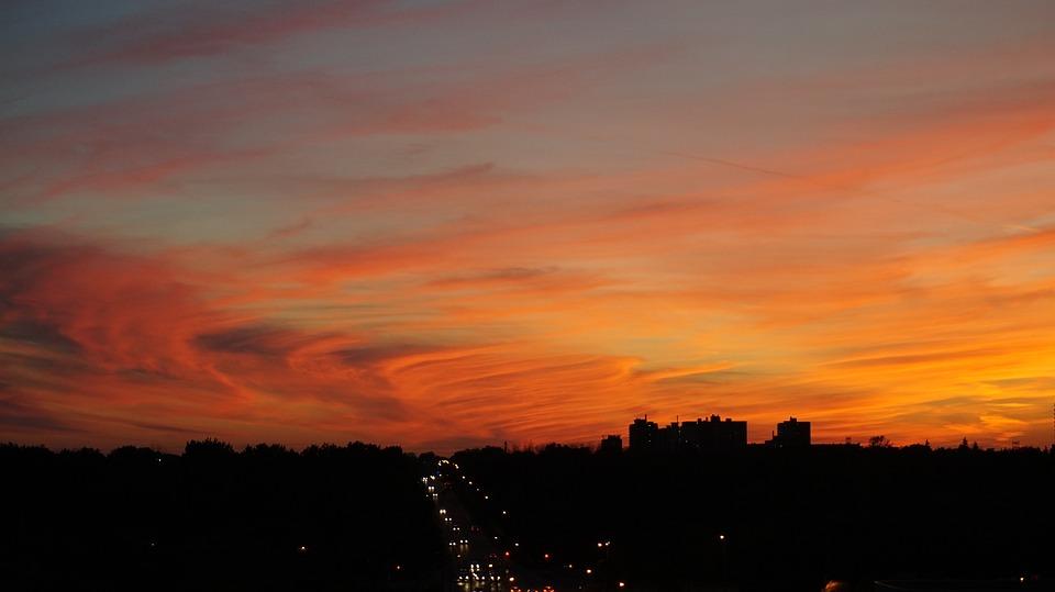 Hd wallpaper education - Free Photo Sunset City Urban Sky Dusk Free Image On