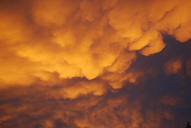 Free Photo Storm Clouds Morning Yellow Free Image On