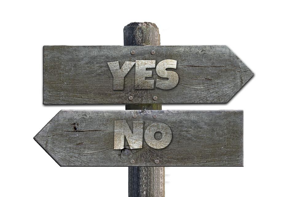 Elenco, Legno, Sì, No, Opportunità, Scelta, Alternative