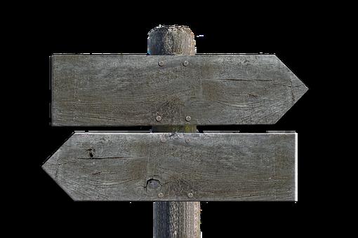 Directory, Wood, Shield, Signposts