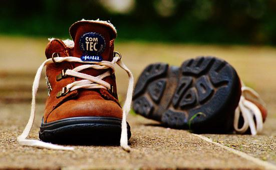 Baby Shoes, Children'S Shoes, Brown